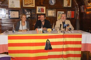 Nieves Ibeas, Ángel Petisme y Chuse Inazio Felices